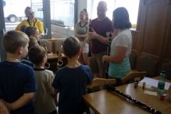 Kinder Erklärung Klarinette