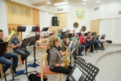 Musikverein beim Proben