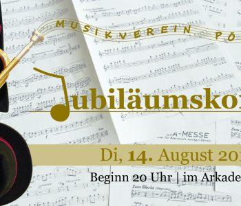 Flyer Jubiläumskonzert